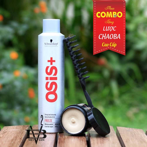 COMBO Gôm Osis+ 3 Session Finish 300ml + Sáp By Vilain Dynamite Clay
