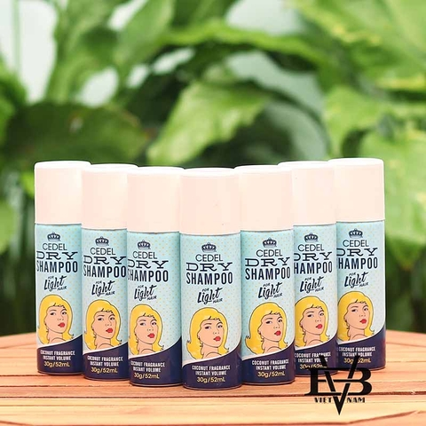 Dầu gội khô CEDEL For Light Hair 30g