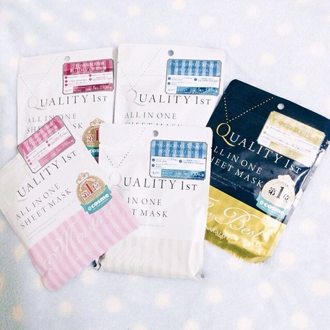 Mặt Nạ Dưỡng Trắng Quality 1st All In One Sheet Mask White 7 miếng