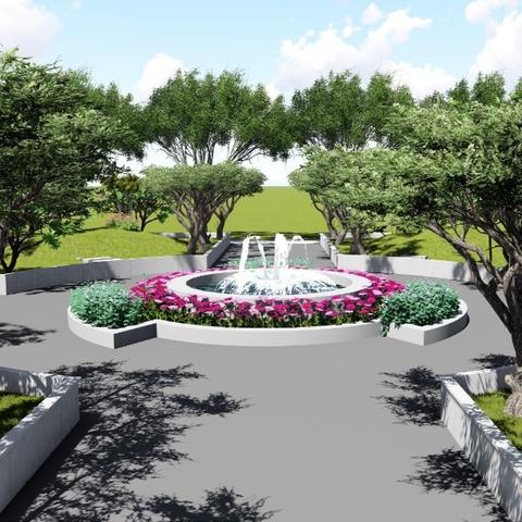 Thiết kế công viên Bình Chánh