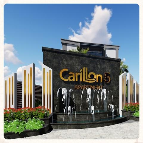Thiết kế cảnh quan khu nhà mẫu Carrilon