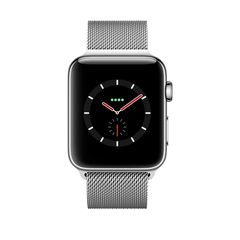 MR1F2 - Apple Watch Series 3 Stainless Steel Case With Milanese Loop (LTE) 38Mm - Mới 100%
