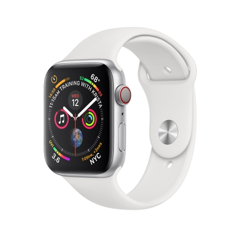 Apple Watch Series 4 GPS + Cellular Aluminum Case with Sport Band