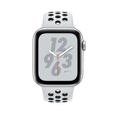 MTXM2 - Apple Watch Series 4 Silver Aluminum Case With Pure Platinum/Black Nike Sport Band (GPS+CELLULAR) 44Mm - Mới 100%