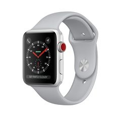 MQK12 - Apple Watch Series 3 Silver ( LTE ) 42Mm - Mới 100%