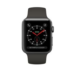 MR362 - Apple Watch Series 3 Gray GPS 42Mm - Mới 100%