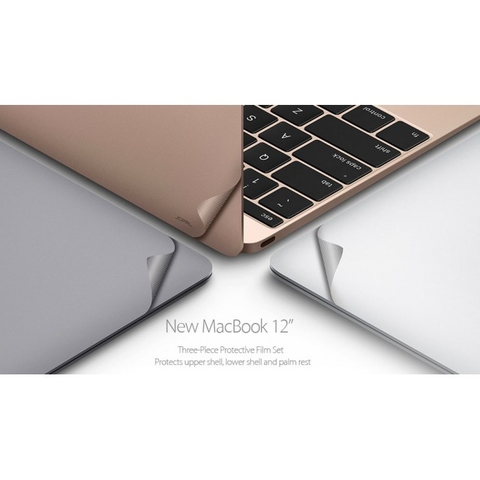 Bộ dán 5 in 1 JCPAL Macbook Retina 12 inch