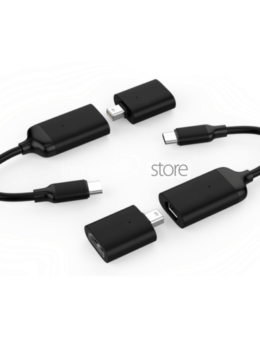 HyperDrive USB-C To 4K60Hz HDMI & Mini Displayport Adapter