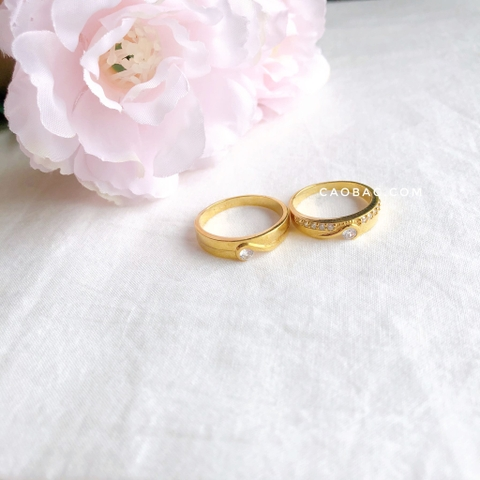 Miniheart Wedding Rings