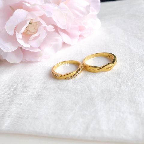 Clover Wedding Rings