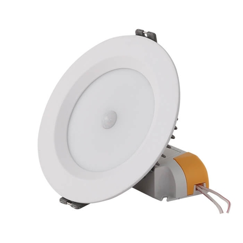 Đèn LED Downlight AT04.PIR 110/9W SS Cảm biến