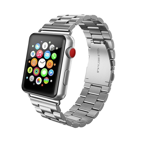 [951] Dây kim loại Apple watch 38mm Series 3, Series 2, Series 1