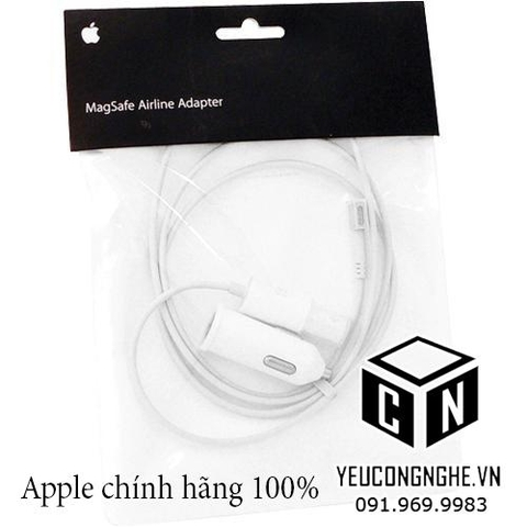 Đầu sạc Macbook Pro/ Air trên máy bay Apple Magsafe Airline Adapter