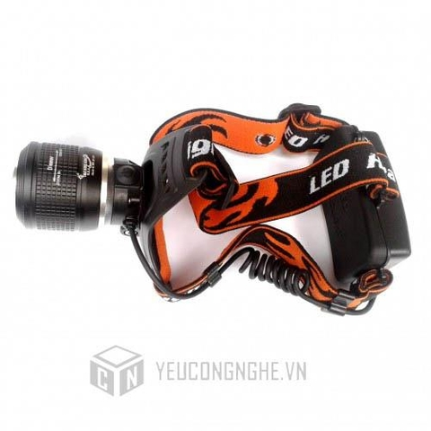 Đèn led đội đầu zoom siêu sáng Dual Light Source Zoom Headlamp SF-T10