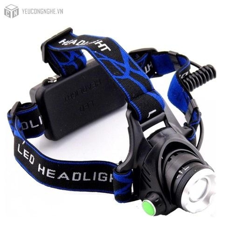 Đèn led zoom đeo đầu siêu sáng high power headlamp SF-T19,T6