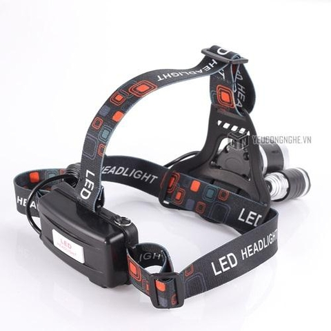 Đèn led đeo đầu 3 đèn high power headlamp XPE-T6