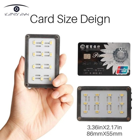 Đèn led bảng mini LED Ulanzi Card Size