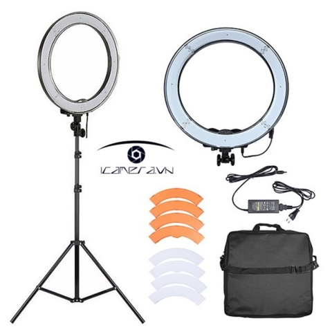 Đèn LED tròn Ring Light NanLite Halo 18 - FN801