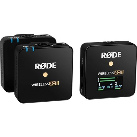 Mic thu âm Rode Wireless Go II