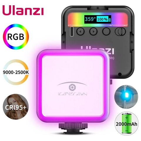 Đèn Ulanzi Mini Led VL49 RGB