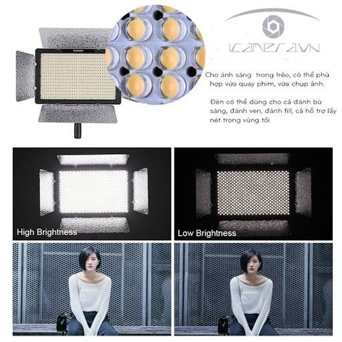 Đèn Yongnuo YN600L Pro LED Video Light