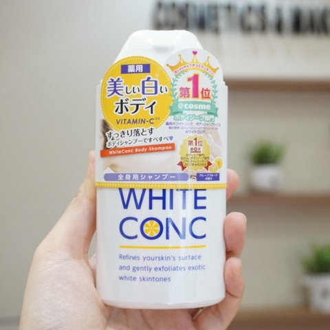 WhiteConc body shampoo 150ml (sữa tắm)