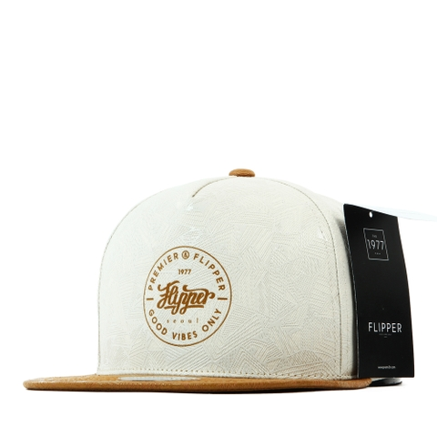 Nón Snapback FLIPPER Triangle print FL233 (Be)