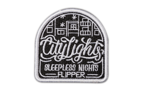 Patch dán ủi FLIPPER CTLIGHT (Đen)