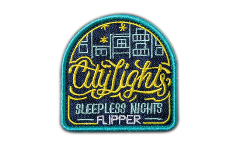 Patch dán ủi FLIPPER CTLIGHT (Xanh Navy)