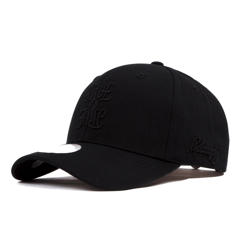 Nón Dadhat H2 illu true Logo all black