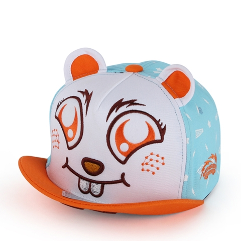 P219 BEAVER/ORANGE VISOR(ADULT)