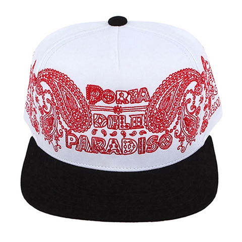 Nón snapback PAISELY pink