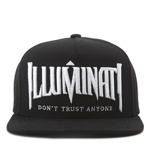 P800 ILLUMINATI EMBROIDERY/BK.WH