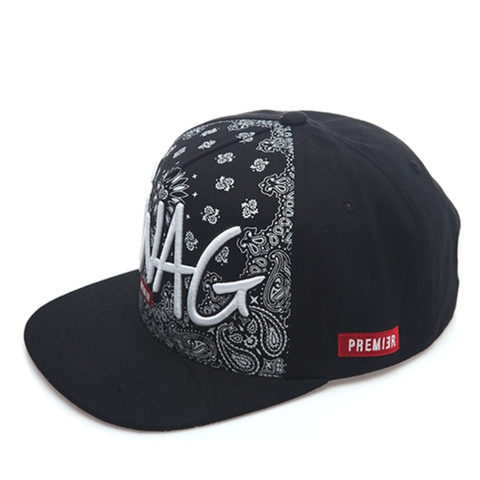 [outlet] Nón hiphop SWAG PASELY black/white