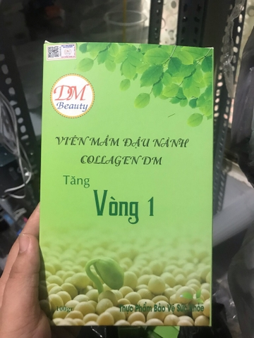 Mầm đậu nành Collagen DM Beauty (dmspa) @1mp,a5