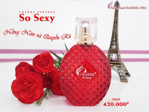 New Nước hoa Charme So Sexy 50ml @chi3