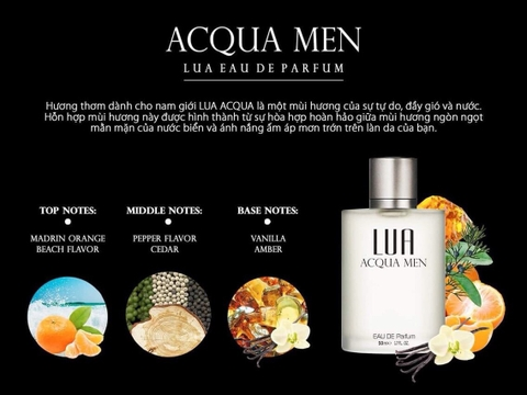 Nước hoa LUA Acqua Men 50ml @chi3
