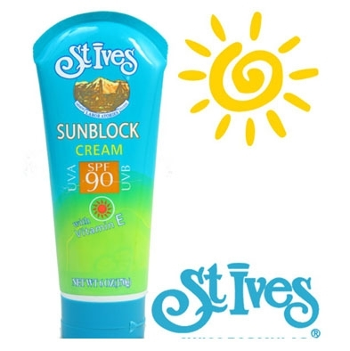 (0777732620) Kem chống nắng St.ives SUNBLOCK