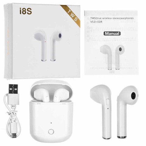 Tai nghe bluetooth Apple i8s airpods cao cấp @nfff#1csB6