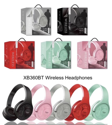 Tai nghe bluetooth XB360BT Headphone @1f5