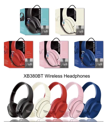 Tai nghe bluetooth XB380BT Headphone @#1c6