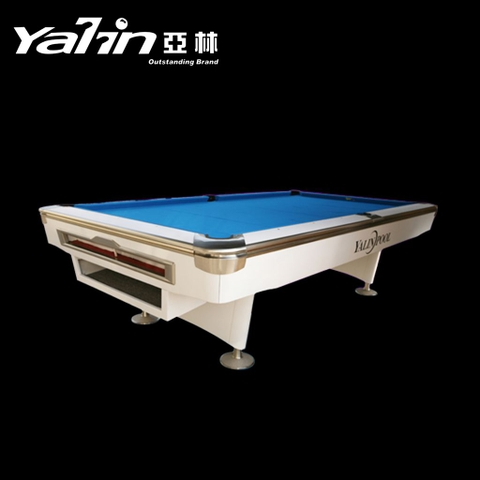 Bàn Pool Yalin M-8S (White)