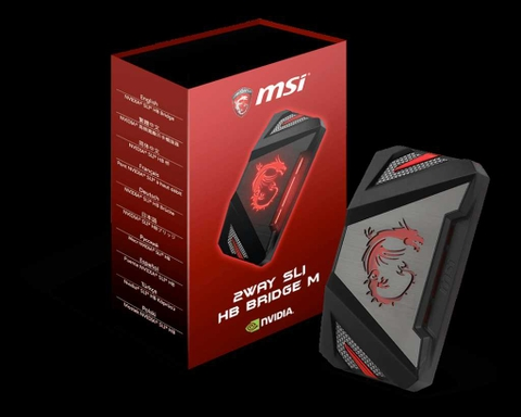 Card màn hình VGA MSI SLI HB BRIDGE M GAMING  (2-Way)