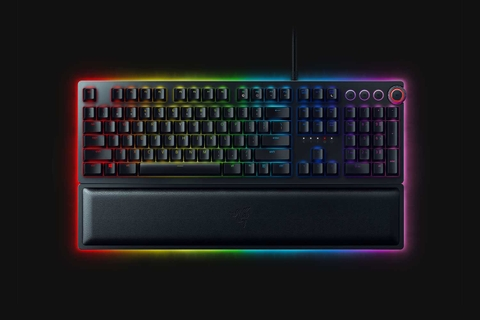 Keyboard Razer Huntsman Elite – Opto-Mechanical Gaming Keyboard – US Layout  - RZ03-01870100-R3M1