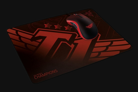 Miếng lót chuột Razer Goliathus SKT T1 Edition - Soft Gaming Mouse Mat - Medium - Speed  (355mm x 254mm)