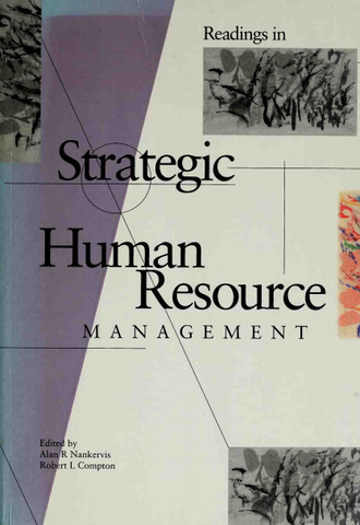 Readings in STRATEGIC HUMAN RESOURCE Management