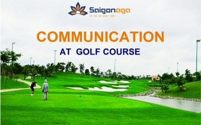 COMMUNICATION AT GOLF COURSE