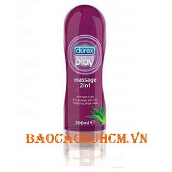 Gel Bôi Trơn Durex Play Massage 2 In 1