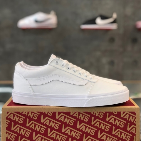 VANS WARD 'TRIPLE WHITE'