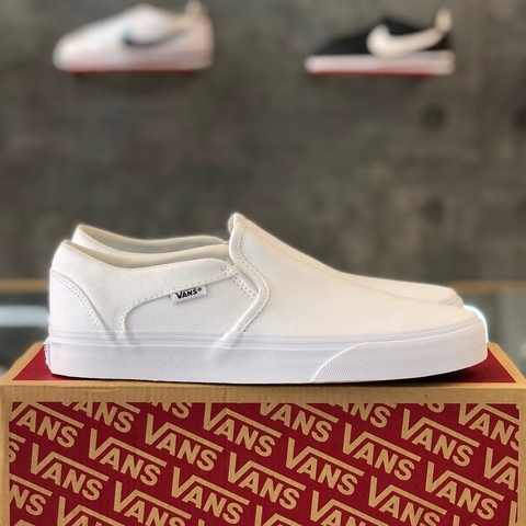 VANS ASHER 'ALL WHITE'